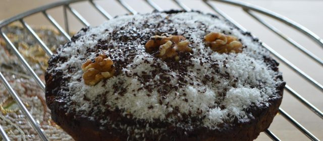 Coconut banana cake